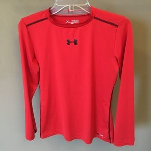 Under Armour Red long sleeve tee